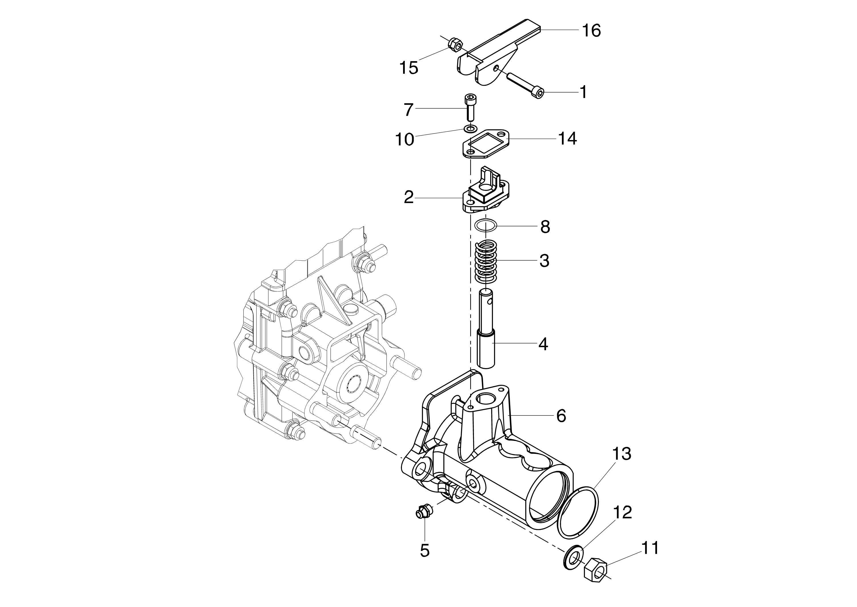 KAM 5 HF (EN 709) Motoculteur  Motoculteur OLEOMAC NIBBI vue éclatée  Dessins pièces -  Quickfit