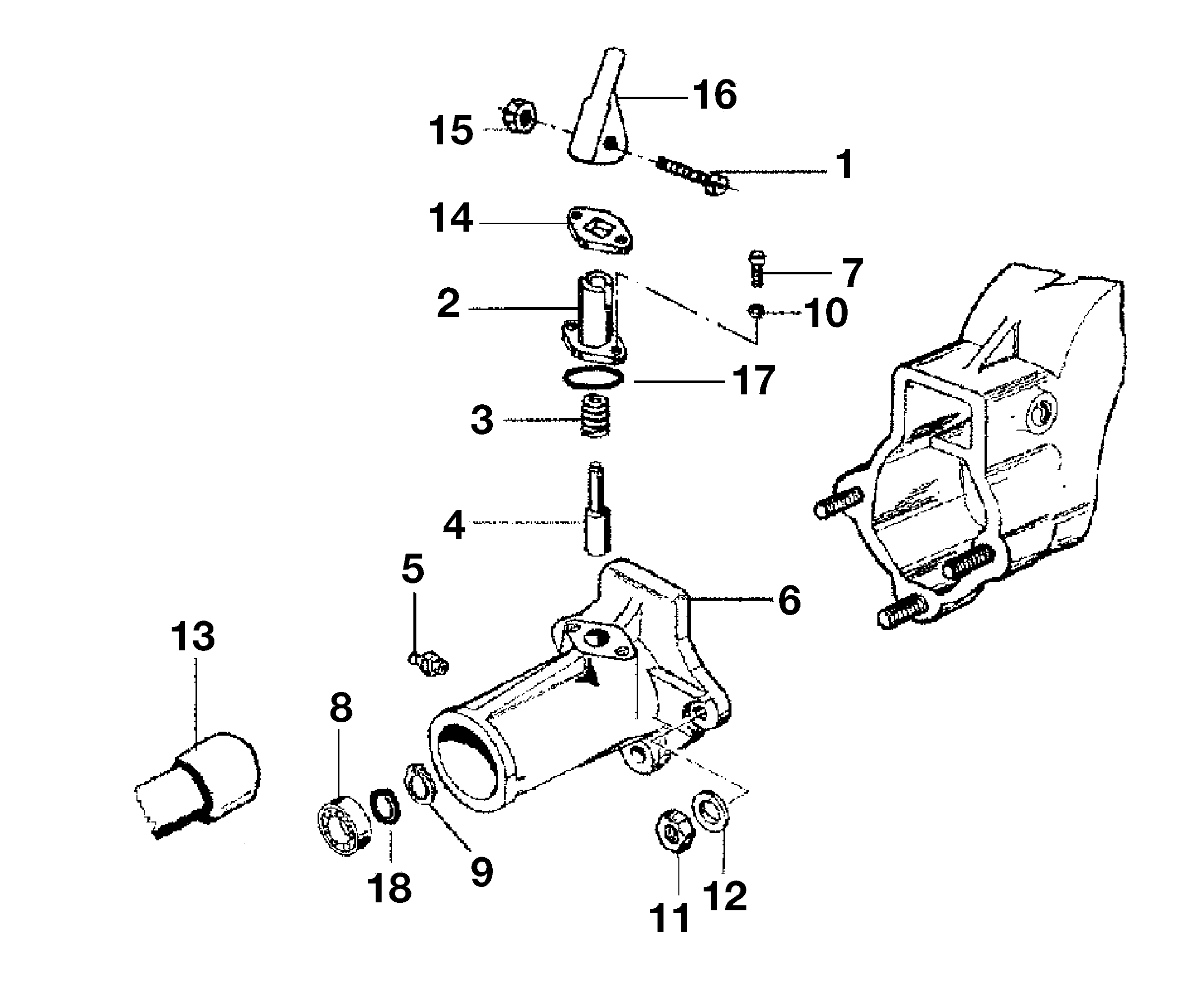 KAM 5 HF Motoculteur  OLEOMAC NIBBI vue éclatée  Dessins pièces -  Quickfit
