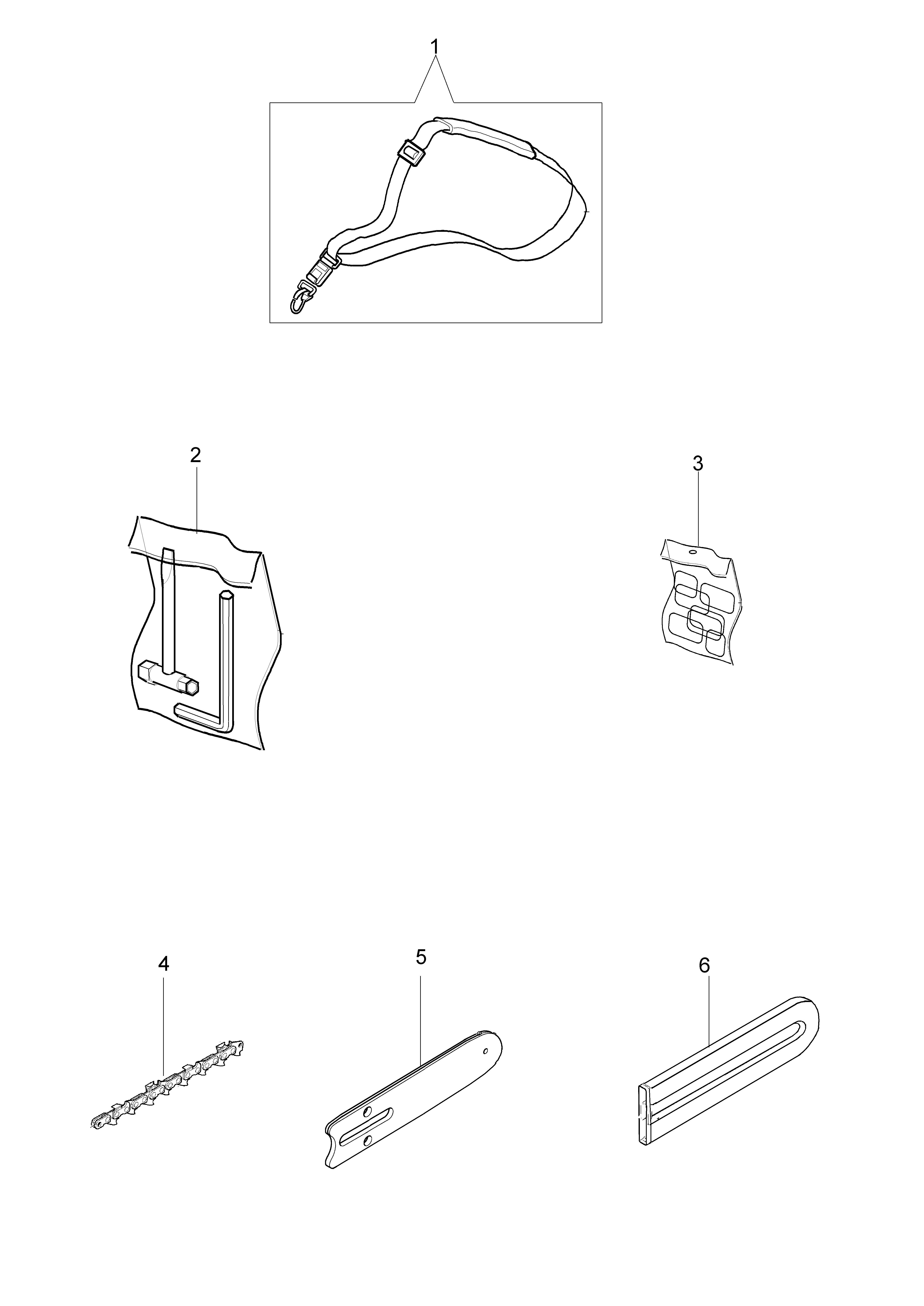 PPX 270 Elagueuses sur perche oleomac Dessins pièces vue éclatée Accessoires