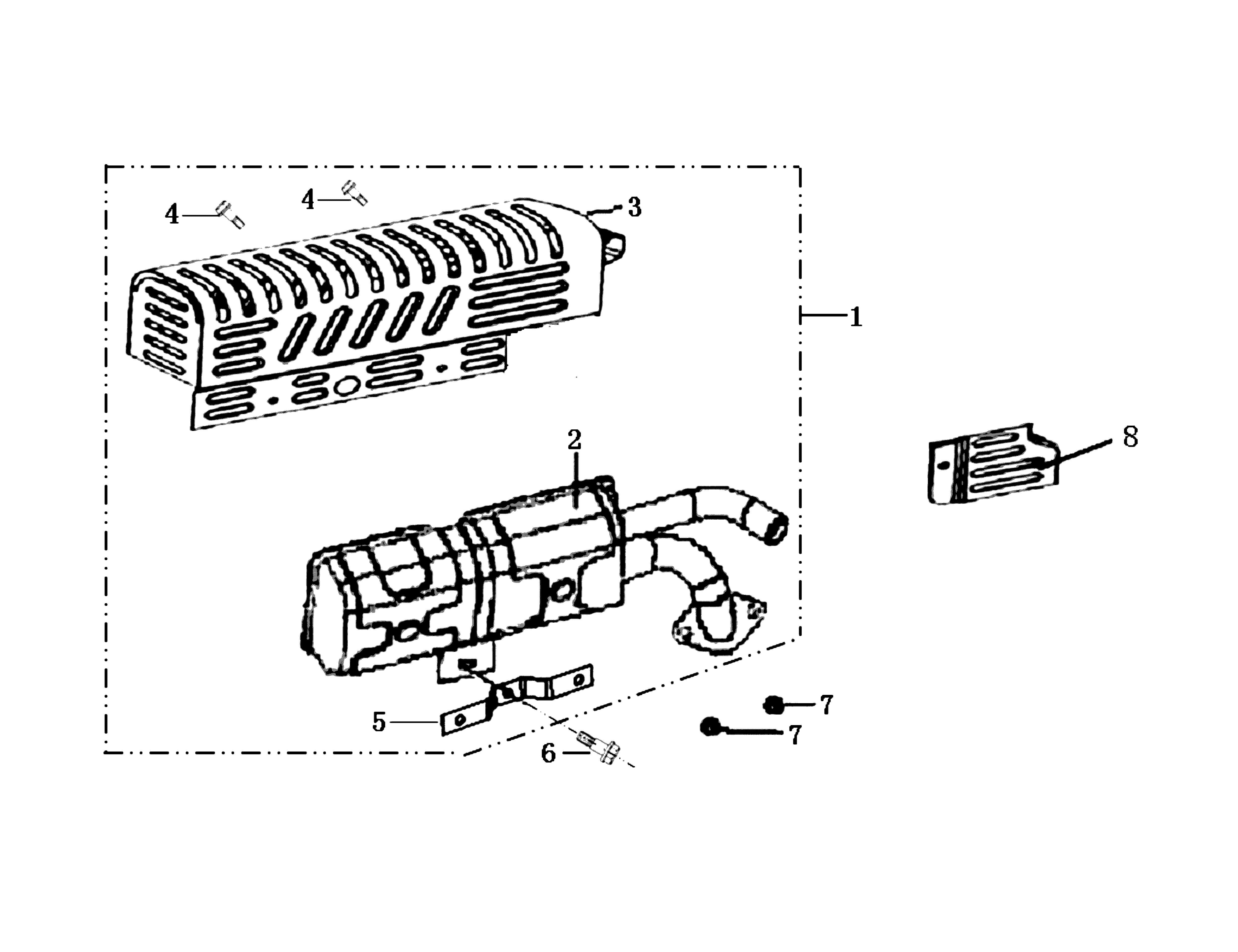 MH 180R - MH 180RK (K700 H) (EN709) Motobineuse oleomac Dessins pièces vue éclatée Pot